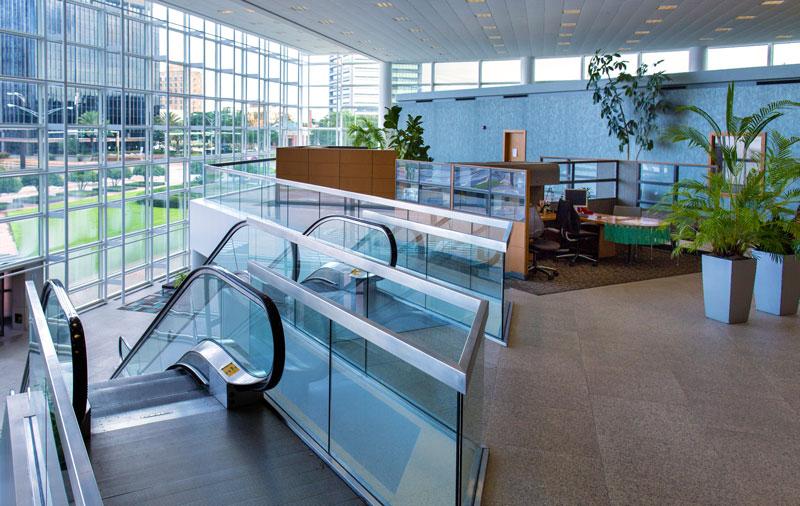 Capital One Tower - lobby